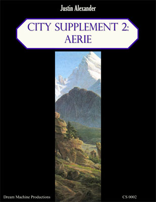 City Supplement 2: Aerie - Justin Alexander
